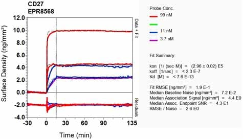 OI-RD Scanning - Anti-CD27 antibody [EPR8568] - BSA and Azide free (ab192335)