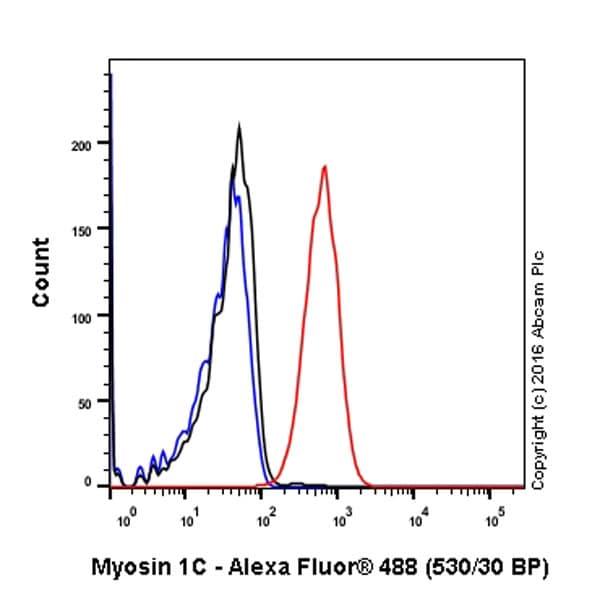 Flow Cytometry (Intracellular) - Anti-MYO1C antibody [EPR14771] (ab194828)
