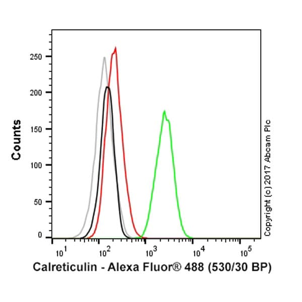 Flow Cytometry - Alexa Fluor® 488 Anti-Calreticulin antibody [EPR3924] - ER Marker (ab196158)