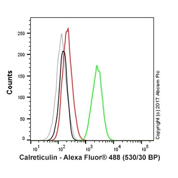 Flow Cytometry - Anti-Calreticulin antibody [EPR3924] - ER Marker (Alexa Fluor® 488) (ab196158)
