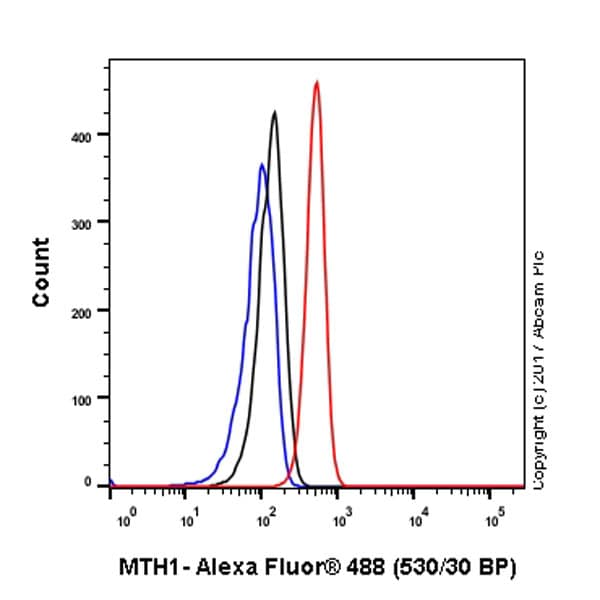 Flow Cytometry - Anti-MTH1 antibody [EPR15934] (ab197028)