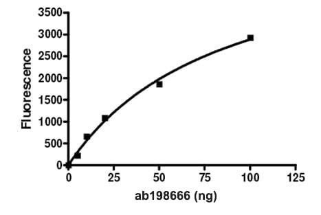 Functional Studies - Recombinant human UBPY/USP8 protein (ab198666)