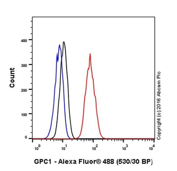 Flow Cytometry - Anti-Glypican 1/ GPC1 antibody [EPR19285] (ab199343)