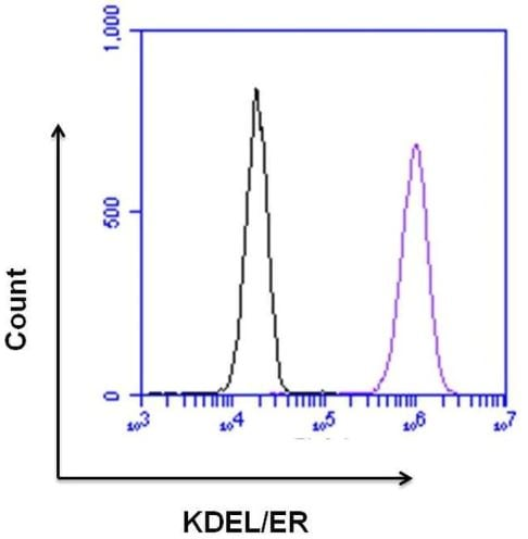 Flow Cytometry - Anti-KDEL antibody (ab2898)