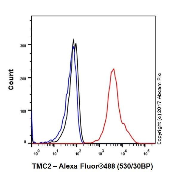 Flow Cytometry - Anti-TMC2 antibody [EPR19446] (ab200039)