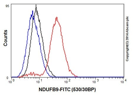 Flow Cytometry - Anti-NDUFB9 antibody [EPR15955-78] (ab200198)