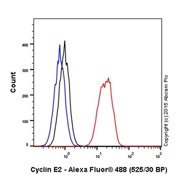 Flow Cytometry - Anti-Cyclin E2 antibody [EP454Y] (Alexa Fluor® 488) (ab200423)