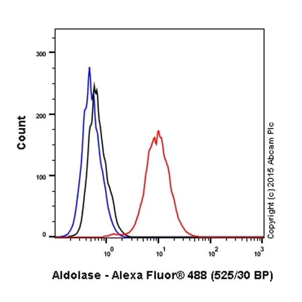 Flow Cytometry - Anti-Aldolase + Aldolase B + Aldolase C antibody [EPR9724(B)] (Alexa Fluor® 488) (ab200771)