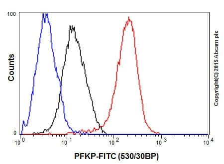 Flow Cytometry - Anti-PFKP antibody [EPR17314] (ab204131)