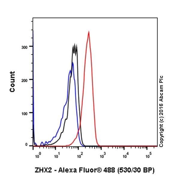 Flow Cytometry - Anti-ZHX2 antibody [EPR17303] (ab205532)