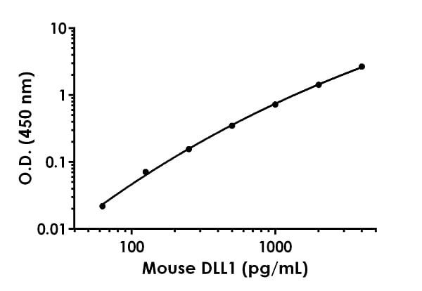 Example of mouse DLL1 standard