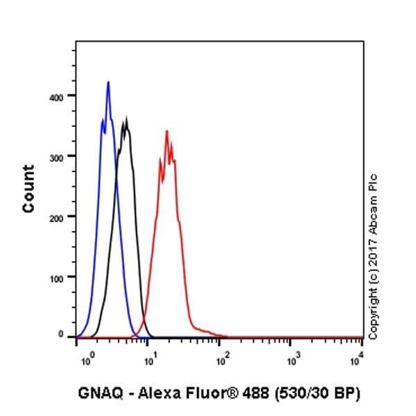 Flow Cytometry - Anti-GNAQ antibody [EPR20978] (ab210004)