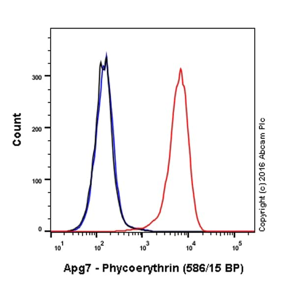 Flow Cytometry - Anti-ATG7 antibody [EP1759Y] (Phycoerythrin) (ab211584)