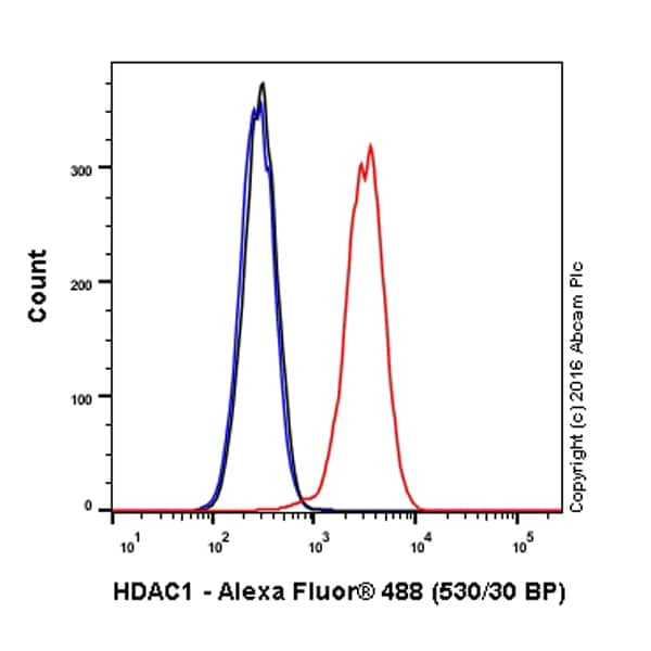 Flow Cytometry - Anti-HDAC1 antibody [EPR460(2)] - BSA and Azide free (ab213701)