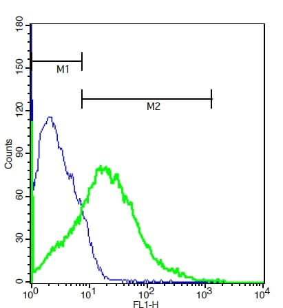 Flow Cytometry - Anti-MMP16 antibody (ab214358)