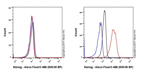 Flow Cytometry - Anti-Nanog antibody [EPR20694] - ChIP Grade (ab214549)