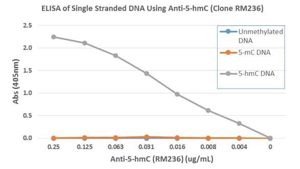 ELISA - Anti-5-hydroxymethylcytosine (5-hmC) antibody [RM236] (ab214728)