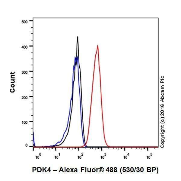 Flow Cytometry - Anti-PDK4 antibody [EPR19727-245] (ab214938)