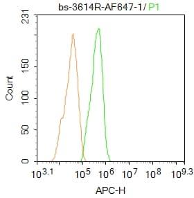 Flow Cytometry (Intracellular) - Anti-PPAR alpha antibody (ab215270)