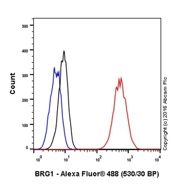 Flow Cytometry - Anti-BRG1 antibody [EPNCIR111A] - BSA and Azide free (ab215998)