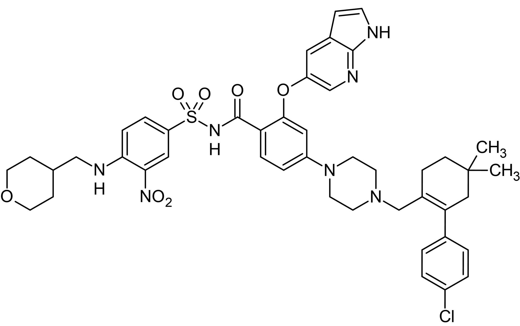 Chemical Structure - ABT-199 (Venetoclax), Bcl-2 inhibitor. (ab217298)