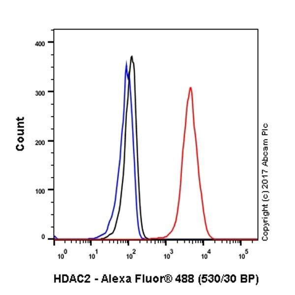 Flow Cytometry - Anti-HDAC2 antibody [EPR20117] (ab219053)
