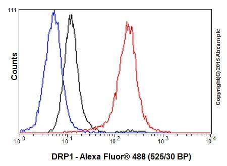 Flow Cytometry - Anti-DRP1 antibody [EPR19274] - BSA and Azide free (ab219596)