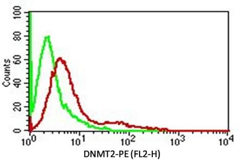 Flow Cytometry - Anti-Dnmt2 antibody [ABM1H70] (ab220175)