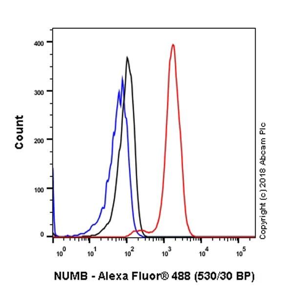 Flow Cytometry - Anti-NUMB antibody [EPR21988] (ab220362)