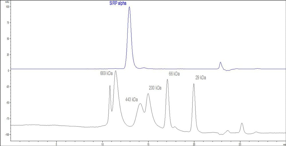Functional Studies - Recombinant human SIRP alpha protein (Fc Chimera Active) (ab221235)