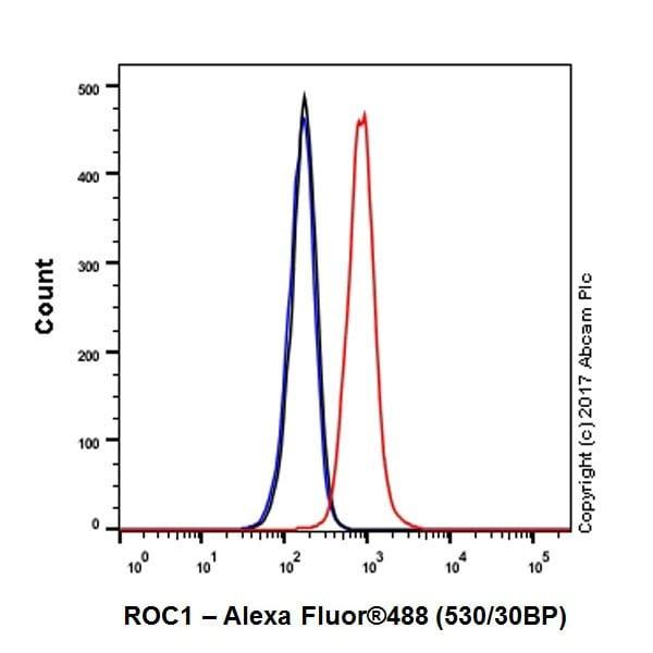 Flow Cytometry - Anti-RBX1 antibody [EPR20185] (ab221548)