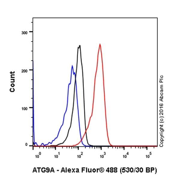 Flow Cytometry - Anti-ATG9A antibody [EPR2450(2)] - BSA and Azide free (ab223528)