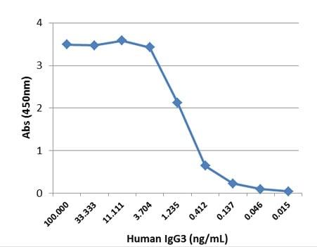 Sandwich ELISA - Anti-IgG3 antibody [RM119] (Biotin) (ab224181)