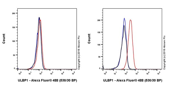 Flow Cytometry - Anti-ULBP1 antibody [EPR22088-211] (ab224711)