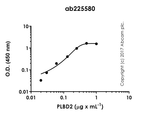 ELISA - Anti-PLBD2 antibody [EPR21204] (ab225580)