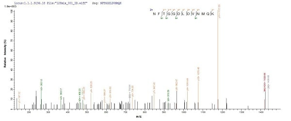 Mass Spectrometry - Recombinant vacA protein (His tag) (ab225655)