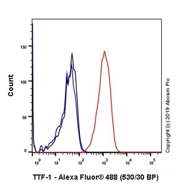 Flow Cytometry - Anti-TTF1 antibody [SP141] (ab227652)