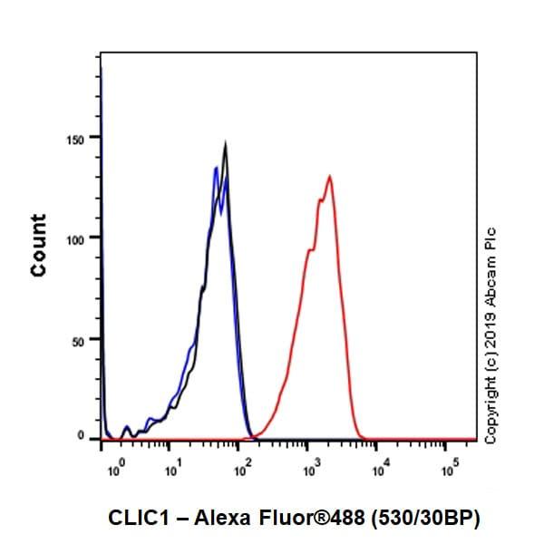 Flow Cytometry - Anti-CLIC1 antibody [EPR22907-50] (ab229917)