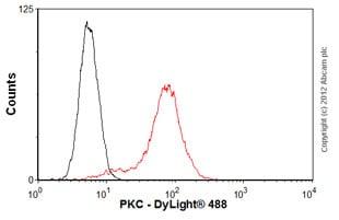 Flow Cytometry - Anti-PKC antibody [M110] (ab23511)