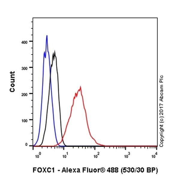 Flow Cytometry - Anti-FOXC1 antibody [EPR20685] - BSA and Azide free (ab230159)