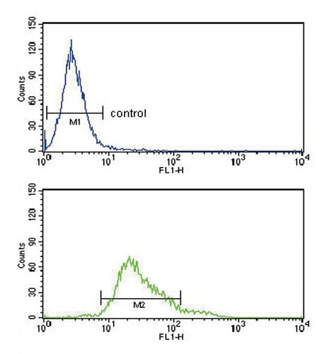 Flow Cytometry - Anti-Glutathione Peroxidase 1 antibody - C-terminal (ab230882)