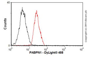 Flow Cytometry - Anti-PABPN1 antibody [EP3000Y] - BSA and Azide free (ab232513)