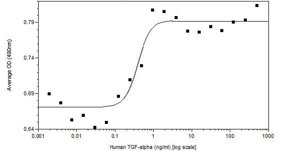 Functional Studies - Recombinant human TGF alpha protein (Active) (ab233677)