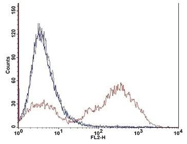 Flow cytometry plot.