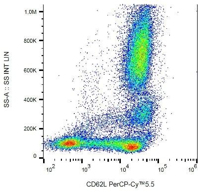Flow Cytometry - PerCP/Cy5.5® Anti-CD62L antibody [DREG56] (ab234219)