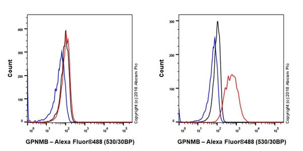 Flow Cytometry - Anti-GPNMB antibody [EPR18226-147] - BSA and Azide free (ab234529)