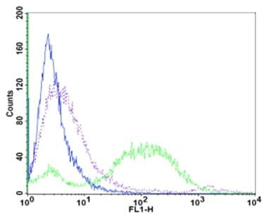 Flow cytometry plot.