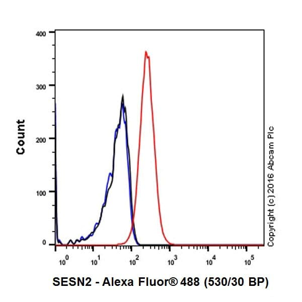 Flow Cytometry - Anti-SESN2/Sestrin-2 antibody [EPR18907] - BSA and Azide free (ab236025)