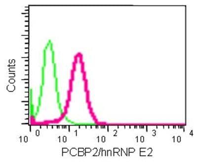 Flow Cytometry - Anti-PCBP2/hnRNP E2 antibody [EPR14858] - BSA and Azide free (ab236137)