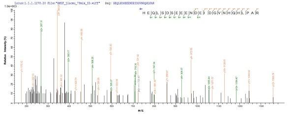 Mass Spectrometry - Recombinant Human papillomavirus HPV18 E7 protein (His tag) (ab236931)